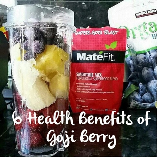MateFit Super Goji Berry Blast is a superfood blend that is created to assist you with you health and wellness