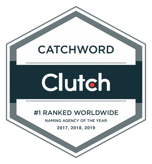 Catchword - First Naming Agency Ranked #1 for Three Consecutive Years