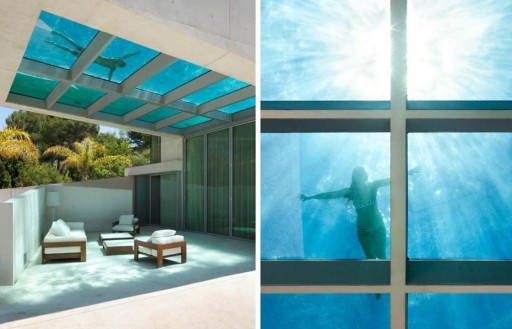 Innovative Acrylics Installs Glass Bottom Pool in Guadalajara, Mexico