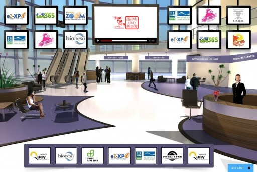 The Sun Yat-Sen Center Foundation (SYSCF) Joins Forces With eZ-Xpo to Launch the World's 1st Virtual Collaborative Network for Global Sustainability