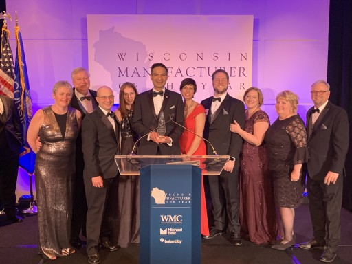 Gamber-Johnson Wins Wisconsin Manufacturer of the Year Award for Exceptional Customer Relations