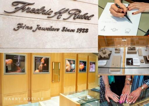 Fredric H. Rubel Jewelers and Harry Kotlar Held Shared Anniversary Celebration