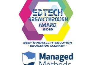 ManagedMethods Named Best Overall IT Solution for the Education Market