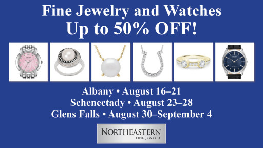 Northeastern Fine Jewelry Announces an End-of-the-Season Summer Sale