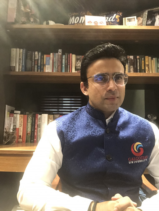 Dhruv Galgotia Takes Galgotias Group on a Roaring Journey: From Publishing, Education, Retail, Hospitality to Now Entering Healthcare