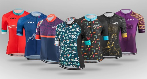 Seven Custom Designs for Clif Pro Mountain Bike Team