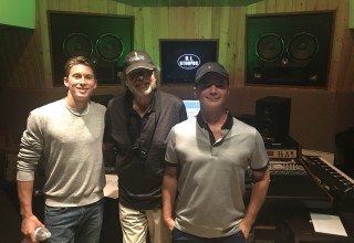 Brian Evans, Jesse Stenger, and Grammy Award winning producer Gary Anderson