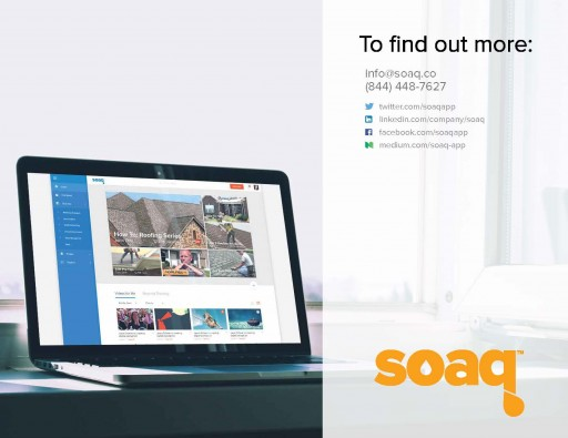 Private Video Sharing App Soaq Prepared to Transform How We Use Video in the Workplace