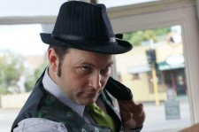 "Angus Benfield as Pastor Luke ""The Holy Roller"" 2011"