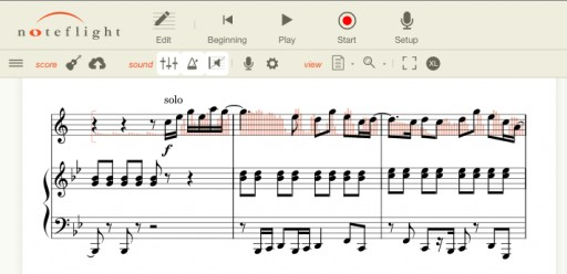 Noteflight Announces First Ever Audio Recording for Online Music Notation
