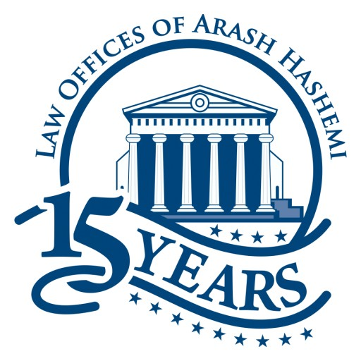 Law Offices of Arash Hashemi Turns 15