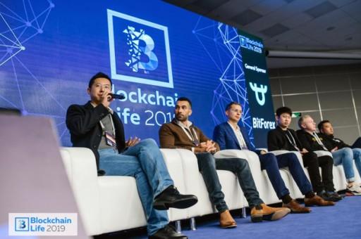 BitForex's CEO Garrett Jin Shares a Voice in Blockchain Life 2019