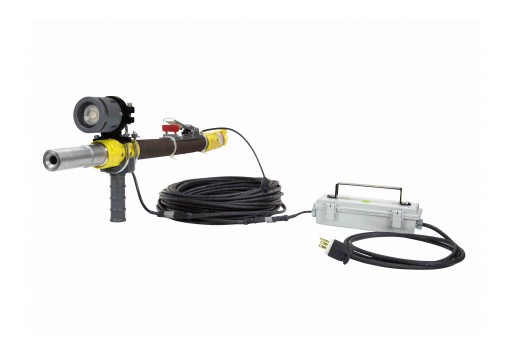 Larson Electronics Releases 18W LED Blasting Gun Light With Handle, Emergency Backup Battery