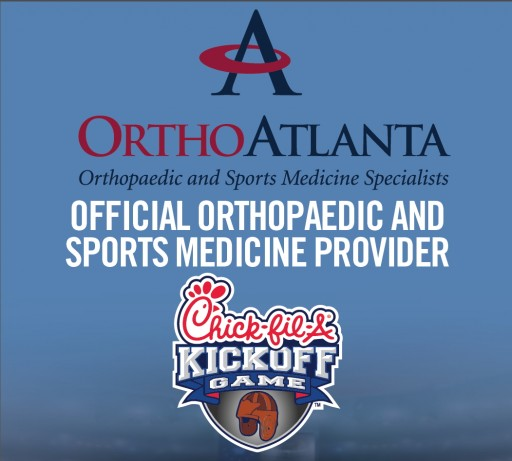 OrthoAtlanta Sponsors Chick-Fil-A Kickoff Game on September 3, 2016 Serving as Official Sports Medicine Provider