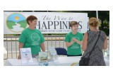 Volunteers from The Way to Happiness Foundation of Washington State brought the nonreligious moral code to the Kent International Festival