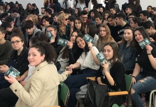 Youth support the campaign to end drug abuse in the region