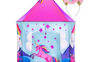 Misty Mountain Unicorn Play Tent with Unicorn Headband