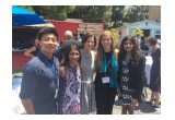 Mimi Walters with TYE participants