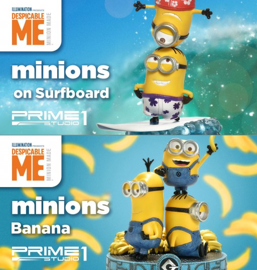 Cuteness Overload - Minions Figures/Statues Presented by Prime 1 Studio