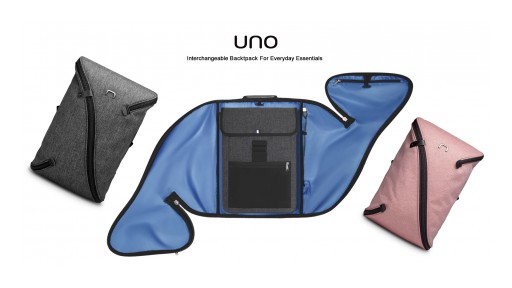 NIID Launched a Kickstarter Campaign for the UNO II - a Totally New Kind of Interchangeable Backpack for Everyday Essentials