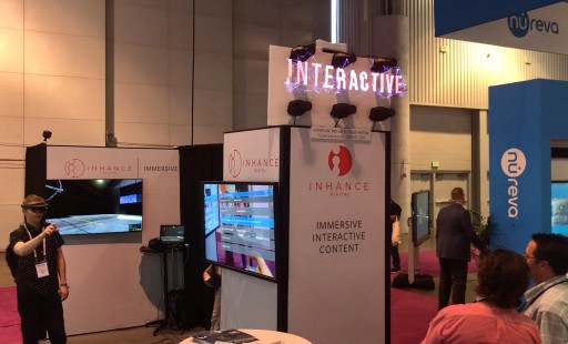 Holographic See-thru Floating 3D Imagery Surprises at Infocomm 2018