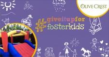 #giveitupforfosterkids