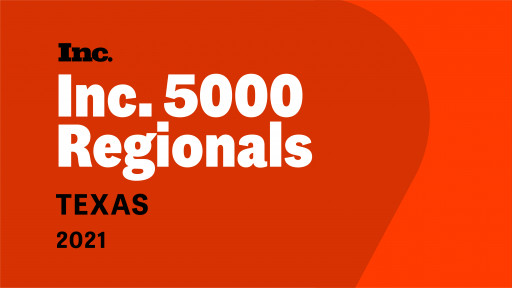 DKBinnovative Ranks 143 on Inc. Magazine's List of the Fastest Growing Private Companies in Texas