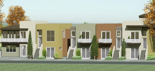 Grand opening of new row homes in National City, CA
