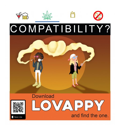Lovappy© Announces a Novel Dating App Intended for Musicians, Cannabis Users and 'Ballers'
