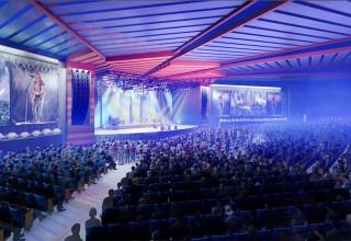 Architectural Rendering of EVO Live Amphitheatre
