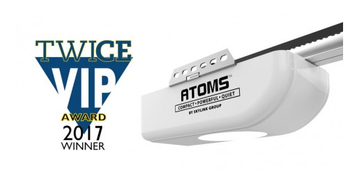 Skylink Group's ATOMS Garage Door Opener Named TWICE VIP Award Winner