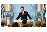MR. DAVID MISCAVIGE, Chairman of the Board Religious Technology Center, led the dedication of the Church of Scientology of Auckland, Saturday, January 21.