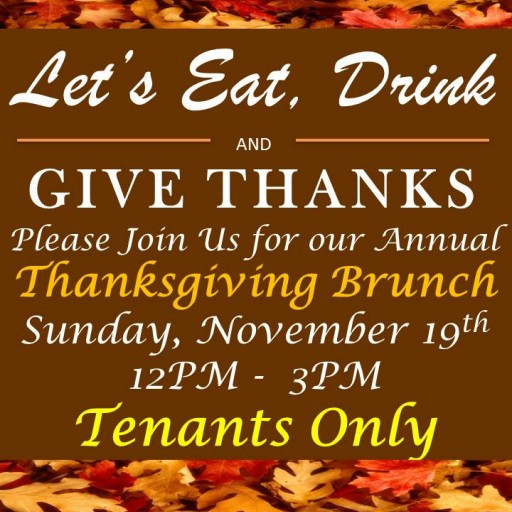 TENTEN Wilshire: Annual Thanksgiving Brunch