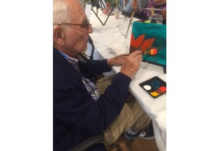 Creative arts during National Assisted Living Week
