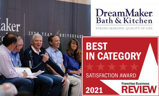 DreamMaker Named #1 Home Services Franchise for 2021