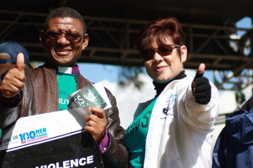Drug-Free World South Africa Joined in the 100-Man March