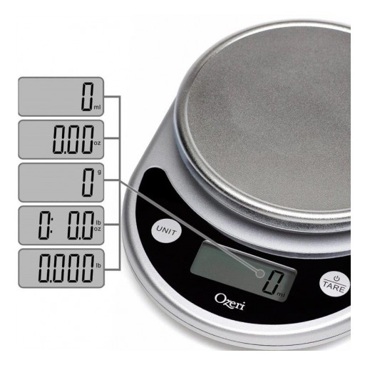 Wiki.ezvid.com Includes the Ozeri Pronto Digital Kitchen Scale in Its Top 10 Kitchen Scales of 2019