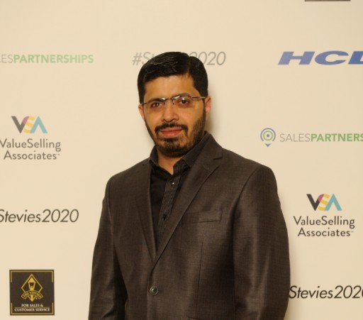 Satish Kumar Boguda Named Chair in the 2020 7th Annual Asia-Pacific Stevie® Awards