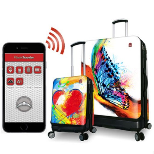 The World's Most Advanced Line of Smart Suitcases