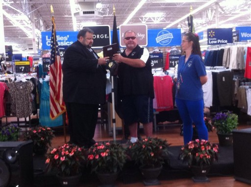 Thank You Walmart for Helping the Mission in Citrus and Their Veterans