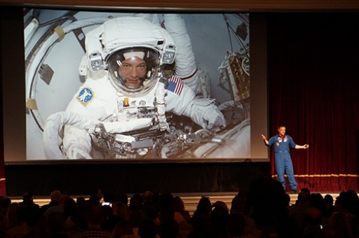 NASA Astronaut Douglas Wheelock Inspires SAPinsider Audience to Reach for the Stars and Prepare for Strong Growth Ahead