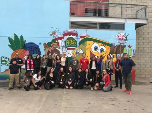 Muralism Celebrates SpongeBob Creator