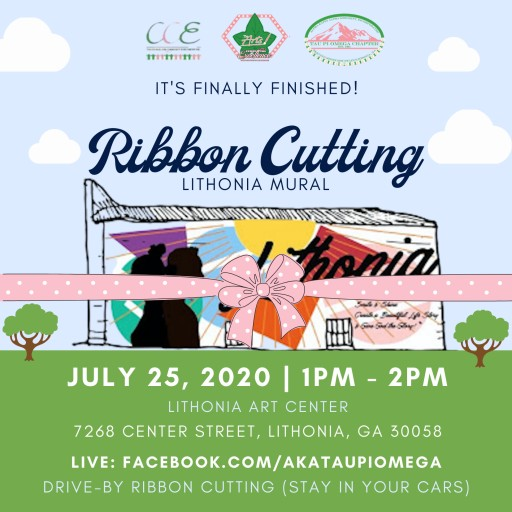 Local AKA Chapter to Unveil Lithonia Mural at Upcoming Ribbon Cutting