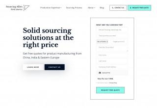 Sourcing Allies Website
