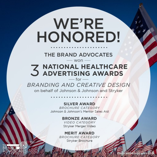 The Brand Advocates Wins Three National Healthcare Advertising Awards