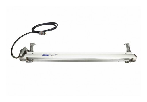 Larson Electronics Releases Explosion Proof LED Paint Spray Booth Light Fixture With SOOW Cord and Explosion Proof Cord Cap