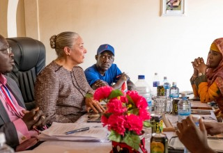 Dr. Shuttleworth helped lay a groundwork for the future of human rights in The Gambia through meetings with volunteers, educators, and officials to encourage full implementation of human rights education in the country.