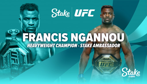 Stake.com Joins Forces With UFC Champion Francis Ngannou