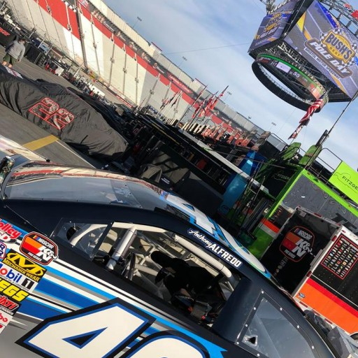 Alfredo Eliminated in Crash While Running Seventh in NASCAR K&N Pro Series East Battle at Bristol