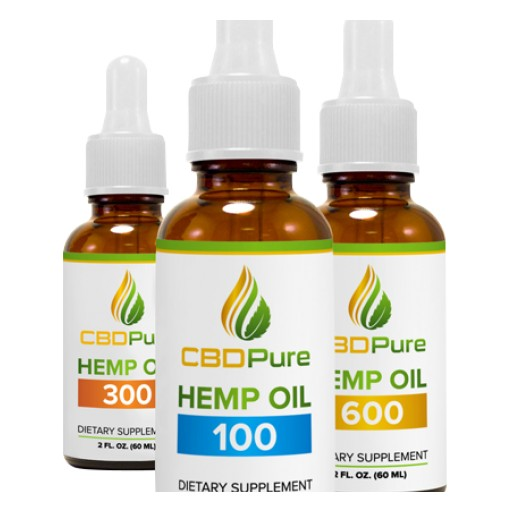 Nutra Pure Adds Highly Concentrated, Organic CBD Oil to Product Line